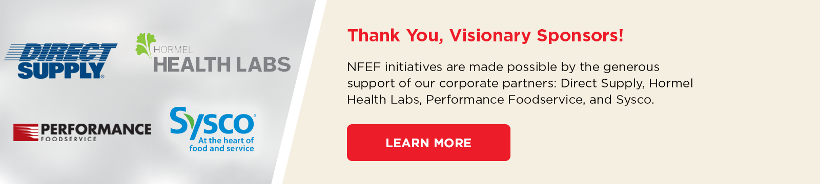 Thank you, Corporate Partners!