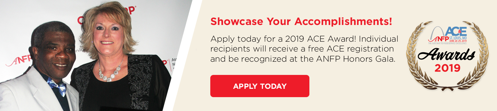 2019 ACE Awards - Apply Today